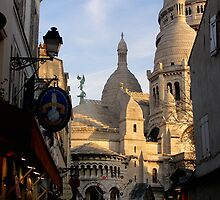 Afternoon Sunshine, Late December, Montmartre by Robert Arconti