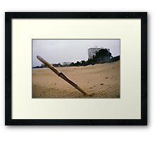 Beach Wand Framed Print