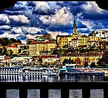 Old Port Belgrade Serbia Fine Art Print by stockfineart