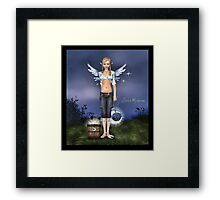 Stolen moonbeams Framed Print