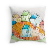 The House Cat Throw Pillow
