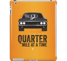 Cinema Obscura Series - The Fast & the Furious - Quarter Mile iPad Case/Skin