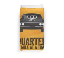 Cinema Obscura Series - The Fast & the Furious - Quarter Mile Duvet Cover