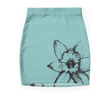 Impatient Flower Pencil Skirt