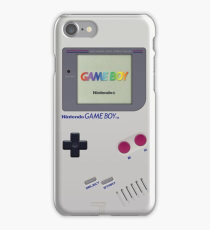 Gameboy Color Classic iPhone Case/Skin