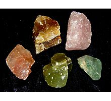 Calcite Colours Photographic Print