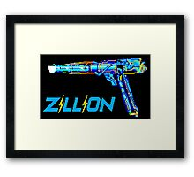 Zillion Framed Print