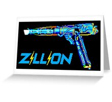 Zillion Greeting Card