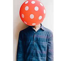 balloon head Photographic Print