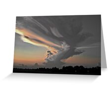 Indiana Clouds Greeting Card