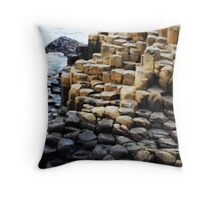 Steps Into the Sea Throw Pillow