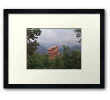 The Angry Scotsman Framed Print