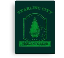 Starling City Vigilante Club 2 Canvas Print