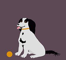 A Black and White Dog by Jacqueline Turton