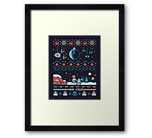 HOLIDAY FAR FAR AWAY Framed Print