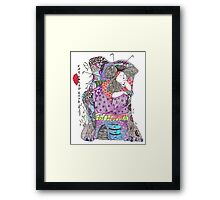 The Bored Empress Framed Print