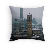 Bologna Rooftops, Emilia-Romagna, Italy Throw Pillow