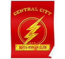 Central City Meta-Human Club Poster