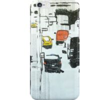 The city's motion.  iPhone Case/Skin