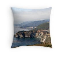 Pacific Coast Highway Throw Pillow