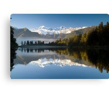 Lake Matheson Canvas Print
