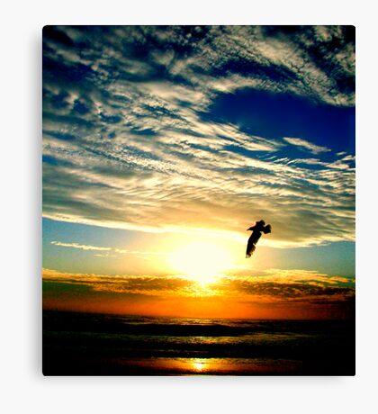 SUNRISE FLIGHT (SPIRITUALITY) Canvas Print