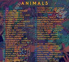 2015 Tour Glass Animals by KidDurant99
