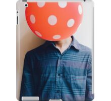 balloon head iPad Case/Skin