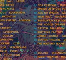2015 Tour Glass Animals Sticker
