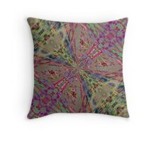 Crystal Butterfly Throw Pillow