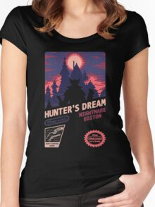HUNTER'S DREAM (INSIGHT) Women's Fitted Scoop T-Shirt