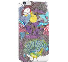 The Frightened Empress iPhone Case/Skin