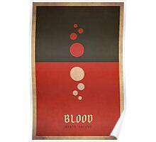 Blood Death Knight - WoW Minimalism Poster