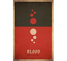 Blood Death Knight - WoW Minimalism Photographic Print