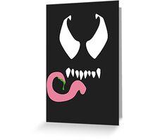 Minimal Venom Greeting Card