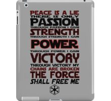 Peace is a LIE! iPad Case/Skin