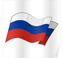 Flag of the Russian Federation. Poster