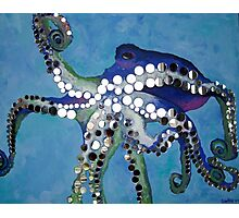 Mirrored Octopus Photographic Print