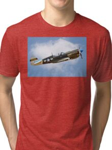 White-tail Warhawk on the up Tri-blend T-Shirt