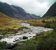 Coe River Glen Coe 19971017 0009 by Fred Mitchell