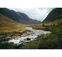 Coe River Glen Coe 19971017 0009 Photographic Print