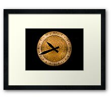 Time In Turkey Framed Print