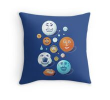 LAST FRIENDS ON EARTH Throw Pillow