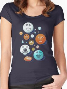 LAST FRIENDS ON EARTH Women's Fitted Scoop T-Shirt