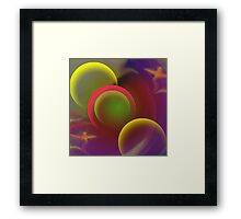 Enjoy The Silence-Abstract ART + Product Design Framed Print