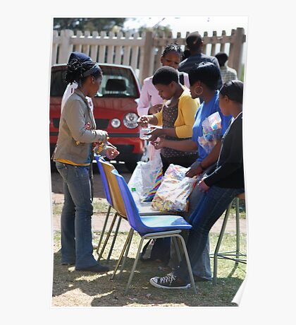 Township Life - The Tuck shop Poster