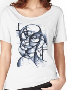 Fluidism - A portrait Women's Relaxed Fit T-Shirt