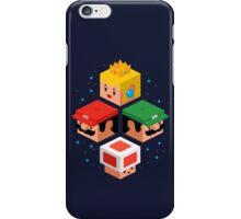 MUSHROOM KINGDOM CUBES iPhone Case/Skin