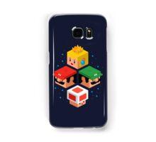 MUSHROOM KINGDOM CUBES Samsung Galaxy Case/Skin