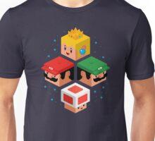 MUSHROOM KINGDOM CUBES Unisex T-Shirt